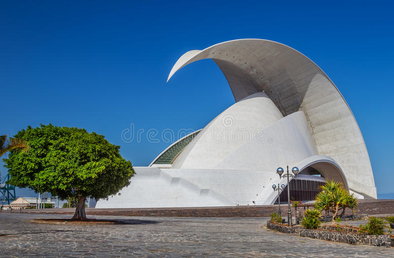L'Auditorio De Ténérife photo stock