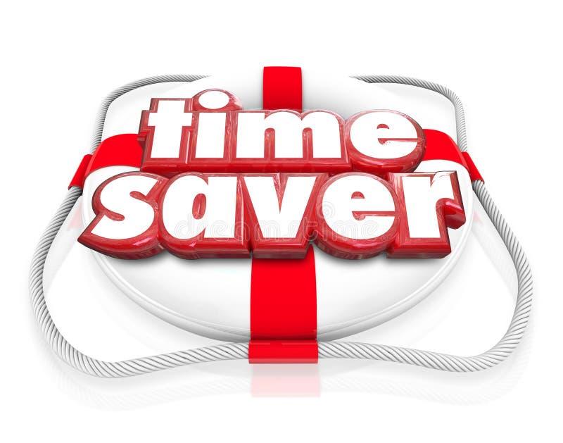 L'augmentation de conservateur de vie de gain de temps améliorent l'efficacité Productivi illustration libre de droits