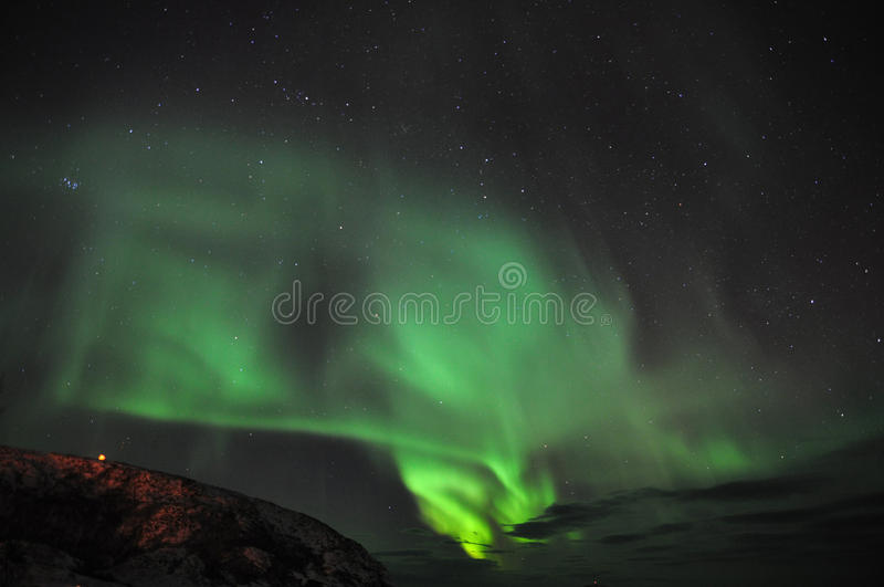 Aurora e nuvole stupefacenti immagini stock libere da diritti