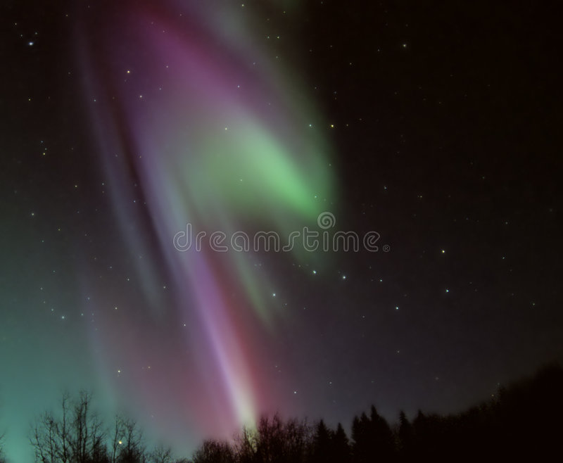 L'aurore Borealis photographie stock libre de droits