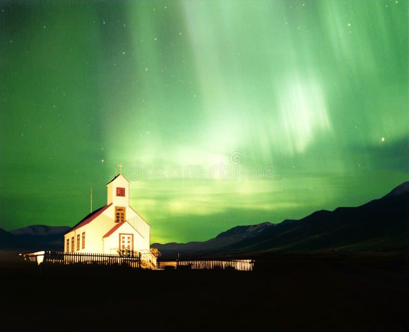 L'aurore Borealis photo stock