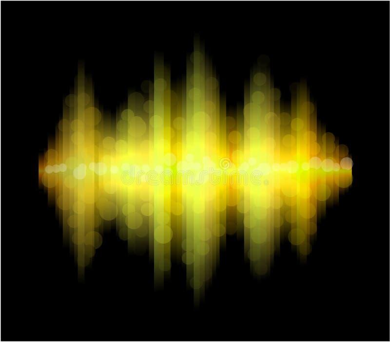 L'aurore jaune. illustration libre de droits