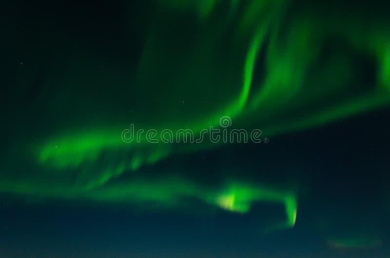 L'aurore, lumières du nord, nuit photo stock