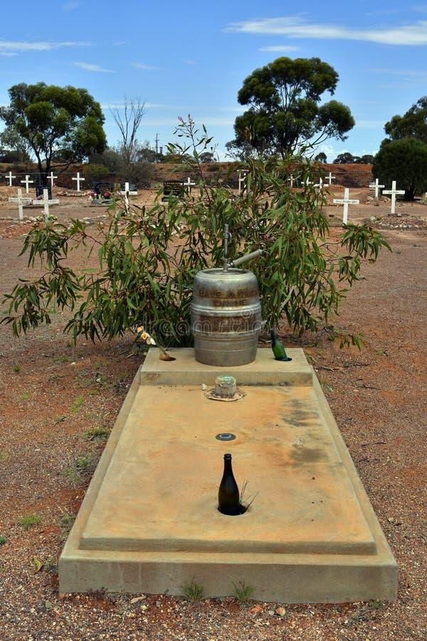 L'Australia, Coober Pedy fotografia stock