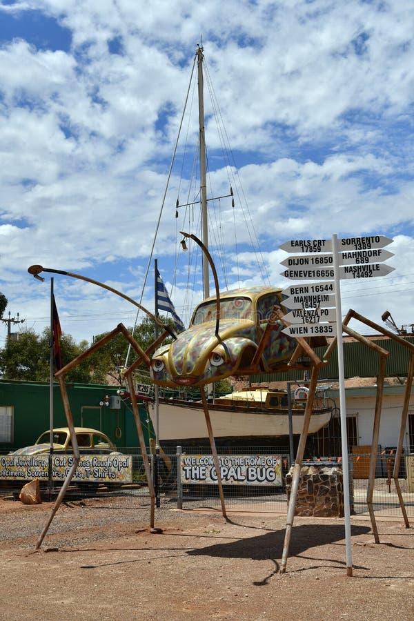 L'Australia, Coober Pedy immagine stock libera da diritti
