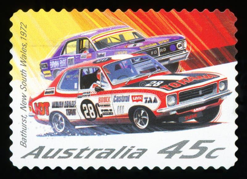 L'AUSTRALIA - francobollo immagini stock libere da diritti