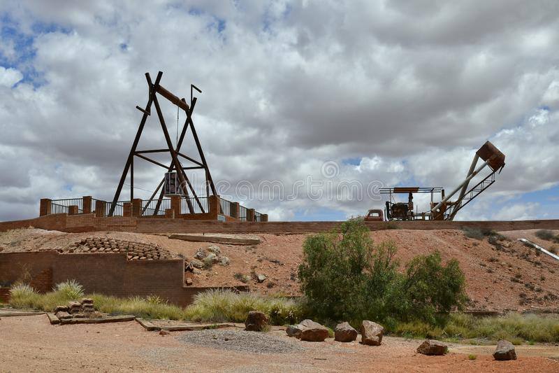 L'Australia, Australia Meridionale, Coober Pedy immagine stock