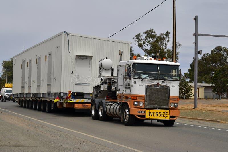 L'Australia, Australia Meridionale, trasporto di grande misura fotografia stock