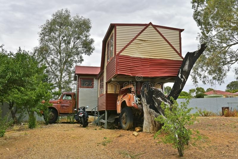 L'Australia, Australia Meridionale, villaggio Melrose immagine stock