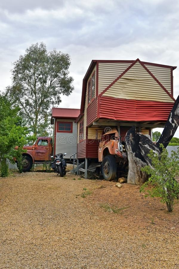 L'Australia, Australia Meridionale, villaggio Melrose fotografia stock