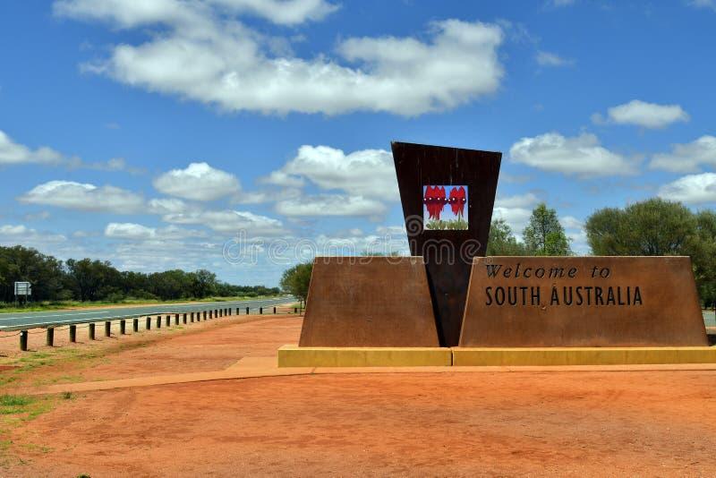 L'Australia, striscia laterale dell'Australia Meridionale immagini stock