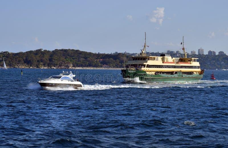 L'Australia, Sydney, trasporto fotografia stock libera da diritti