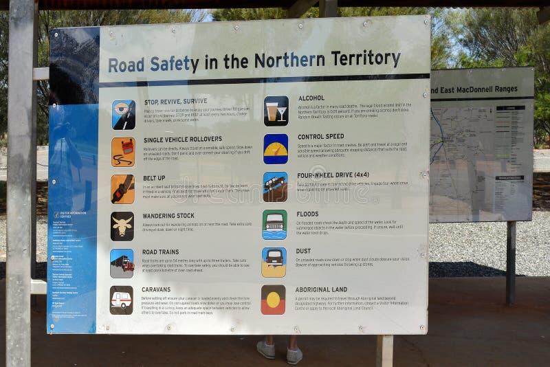 L'Australia, Territorio del Nord, informazioni immagine stock libera da diritti