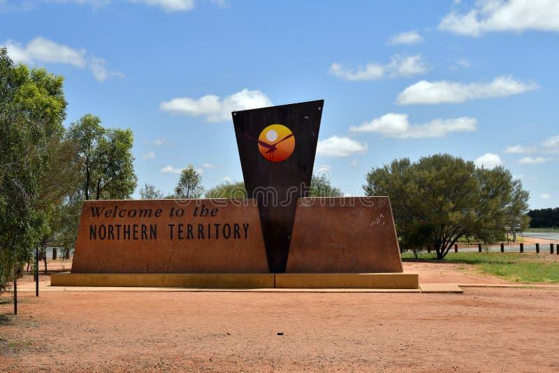 L'Australia, Territorio del Nord, limite fotografia stock
