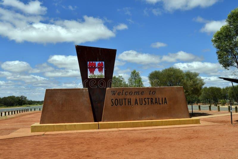 L'Australia, Territorio del Nord - Australia Meridionale fotografie stock libere da diritti