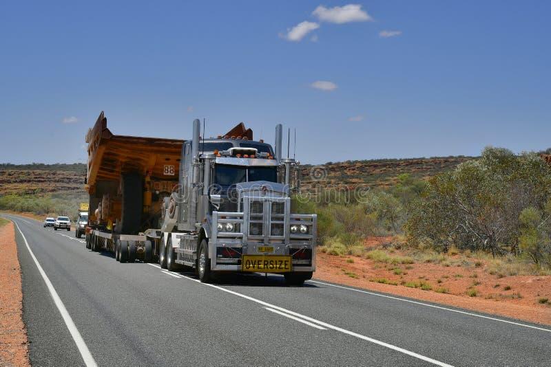 L'Australia, trasporto, industria, camion immagini stock libere da diritti