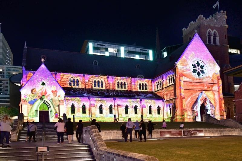 L'Australia, WA, Perth, decorazione di Natale immagine stock libera da diritti