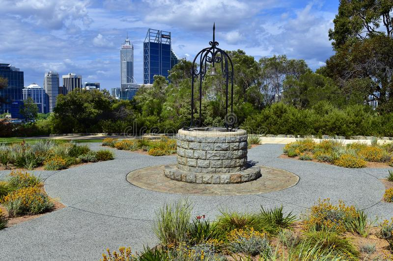 L'Australia, WA, Perth, re Park fotografie stock