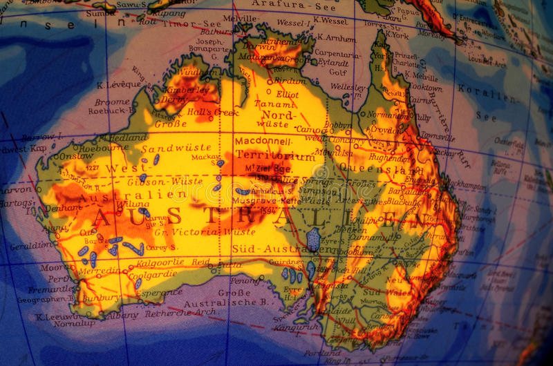 l'Australie image libre de droits