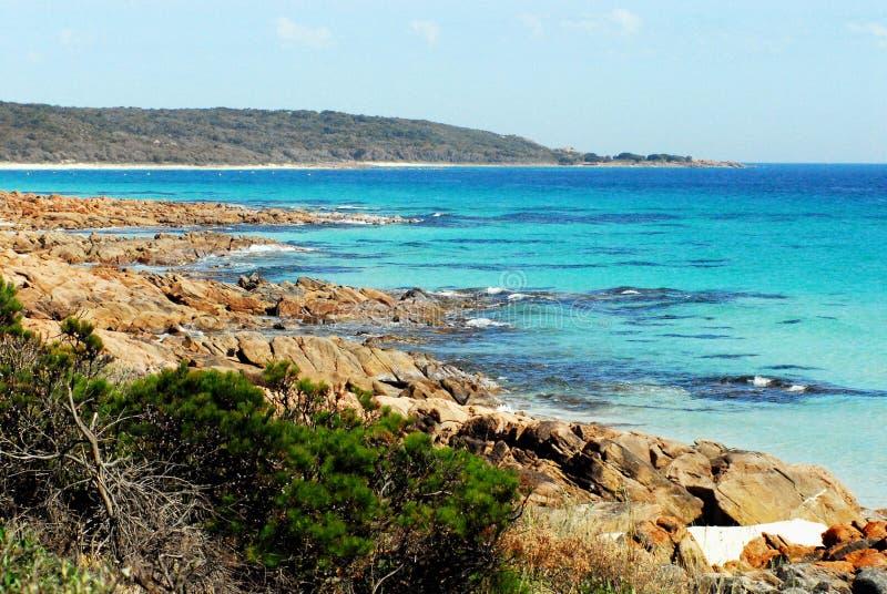L'Australie le beau littoral, au sud de Perth image stock