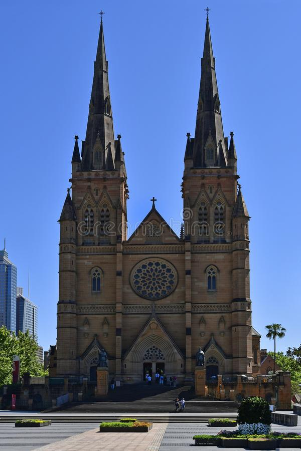 L'Australie, NSW, Sydney, St Mary Cathedral photo stock