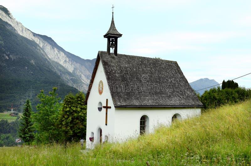L'Austria, Tirolo, cappella fotografie stock libere da diritti