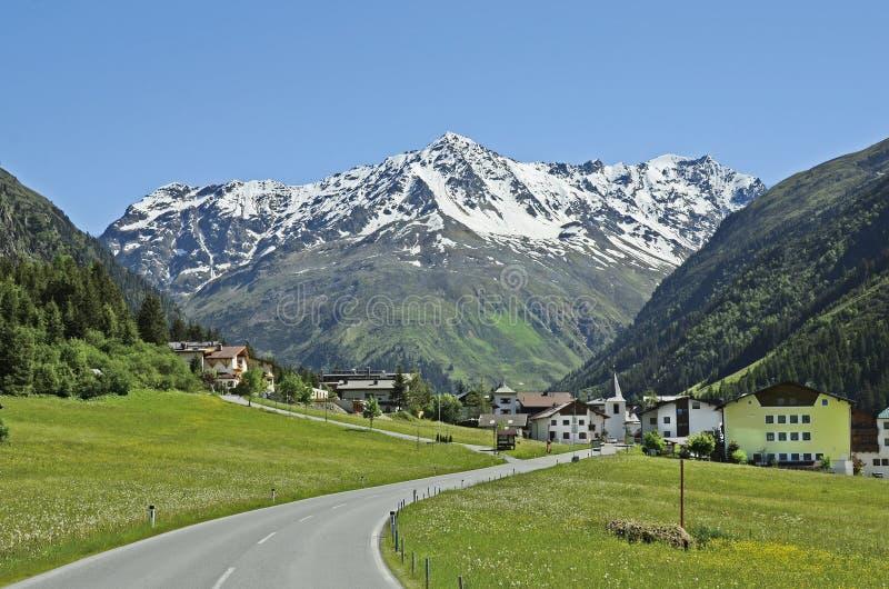L'Austria, Tirolo, Pitztal immagine stock libera da diritti