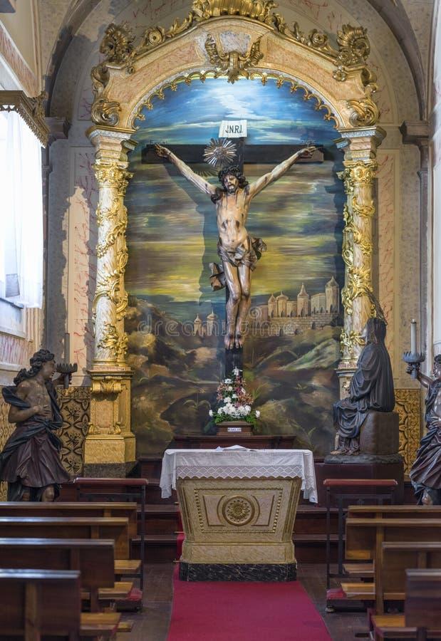 L'autel de Bom Jesus do Monte photos libres de droits