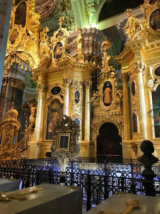 L'autel de l'?glise orthodoxe image libre de droits