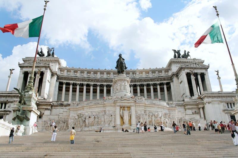 L'autel de la patrie à Rome photo libre de droits