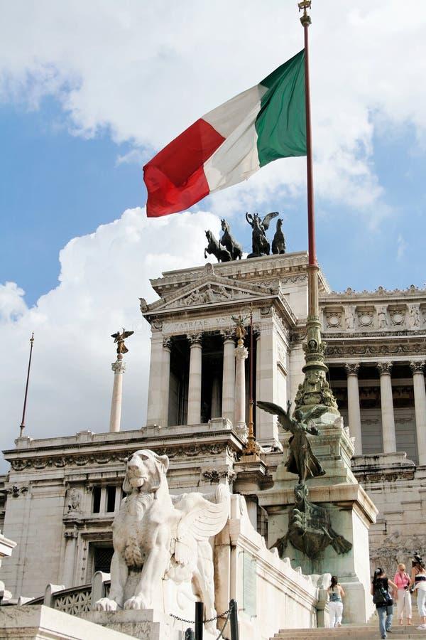 L'autel de la patrie à Rome - groupe photos stock
