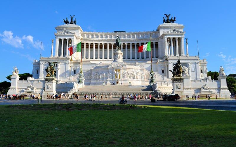 L'autel italien de la patrie images stock