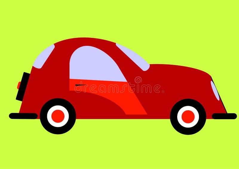 L'automobile illustrazione di stock