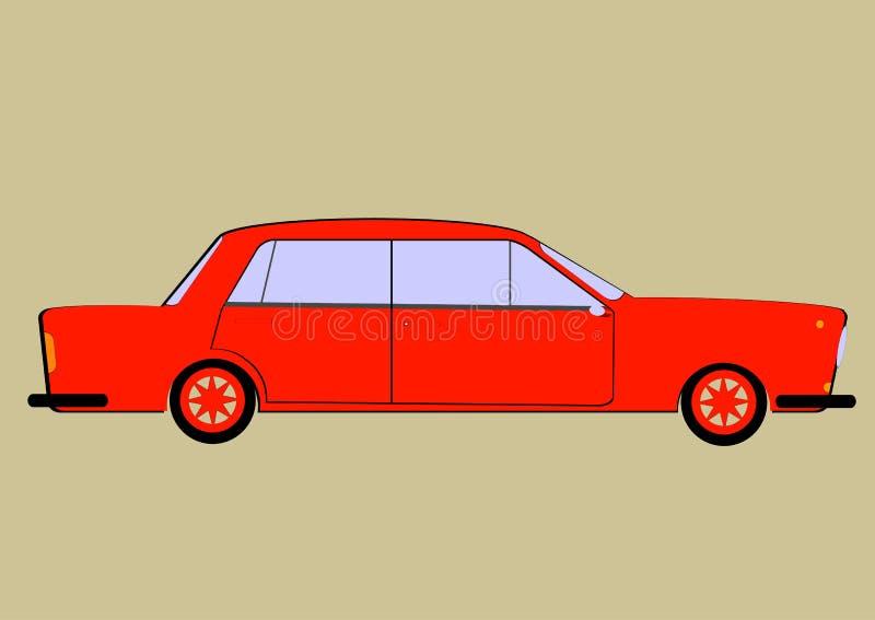 L'automobile illustrazione vettoriale