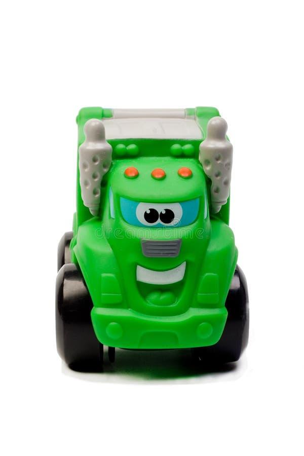 L'automobile del giocattolo ha isolato fotografia stock