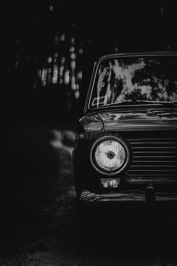 L'automobile delle automobili sovietiche di periodi immagine stock