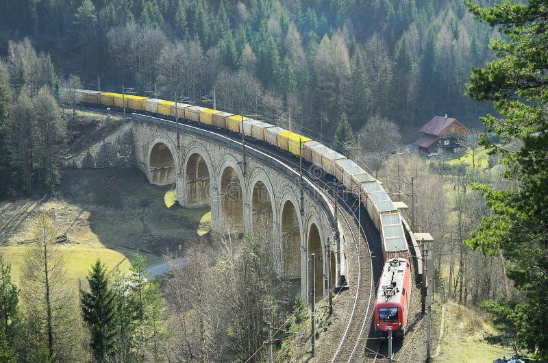 L'Autriche, chemin de fer image libre de droits