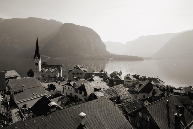 Download L'Autriche/Hallstatt photo stock. Image du montagnes, vacances - 86252