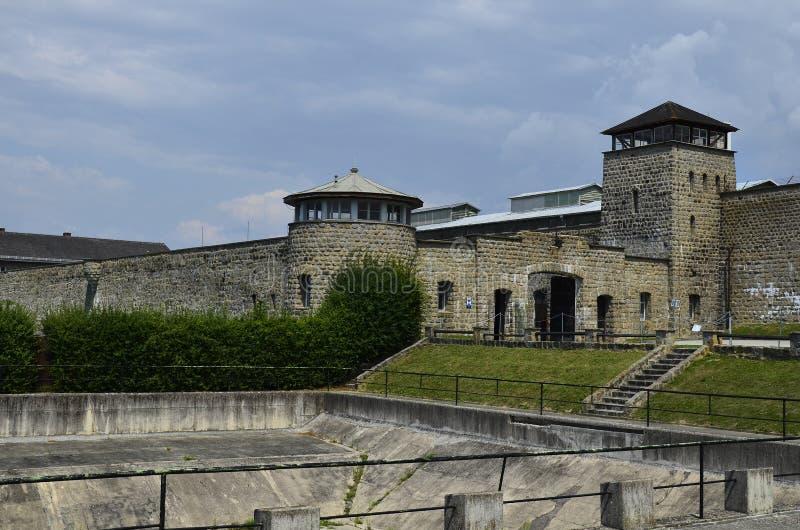 L'Autriche, KZ Mauthausen images stock