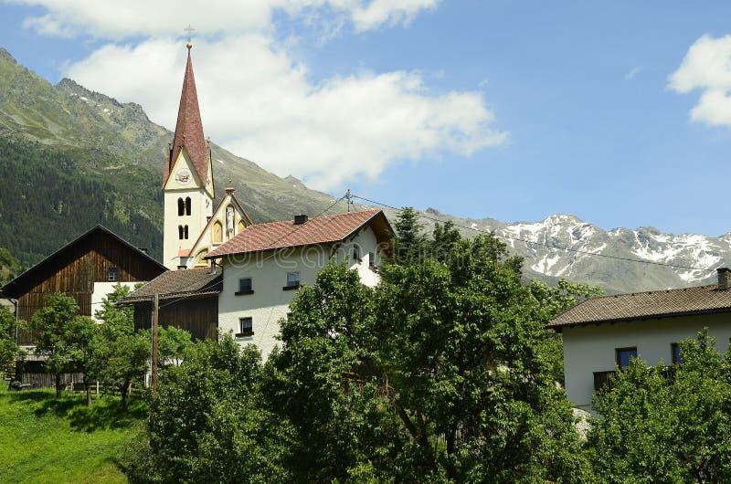 L'Autriche, le Tirol, Kaunertal photos stock