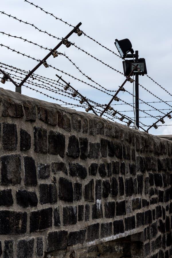 L'Autriche, mauthausen le camp de concentration photographie stock