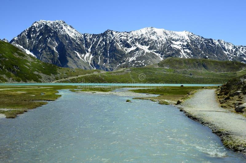 Download L'Autriche, Tyrol, Pitztal photo stock. Image du horizontal - 76081900