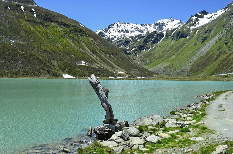 Download L'Autriche, Tyrol, Pitztal photo stock. Image du dessin - 76082428