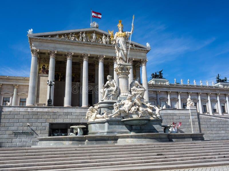 L'Autriche, Vienne, le parlement photos libres de droits