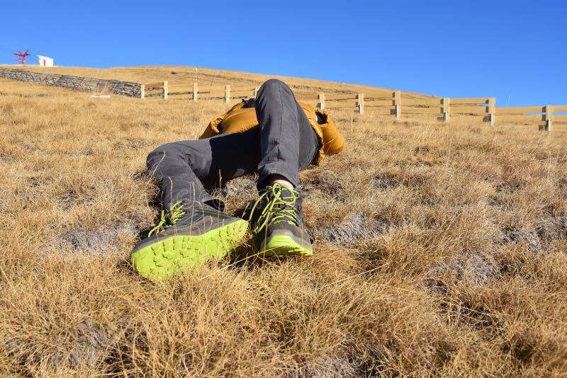 L'autunno si rilassa in montagne di Bucegi, Sinaia, Romania fotografia stock libera da diritti