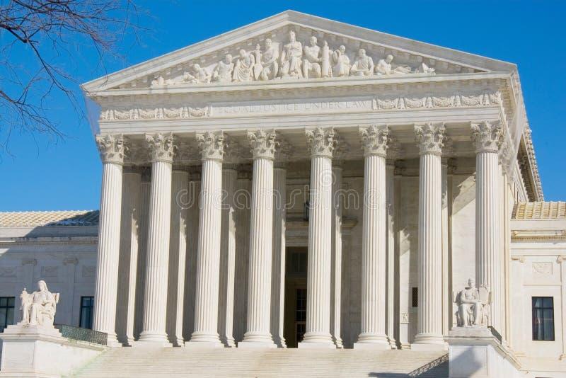 L'avant de la court suprême des USA photographie stock libre de droits