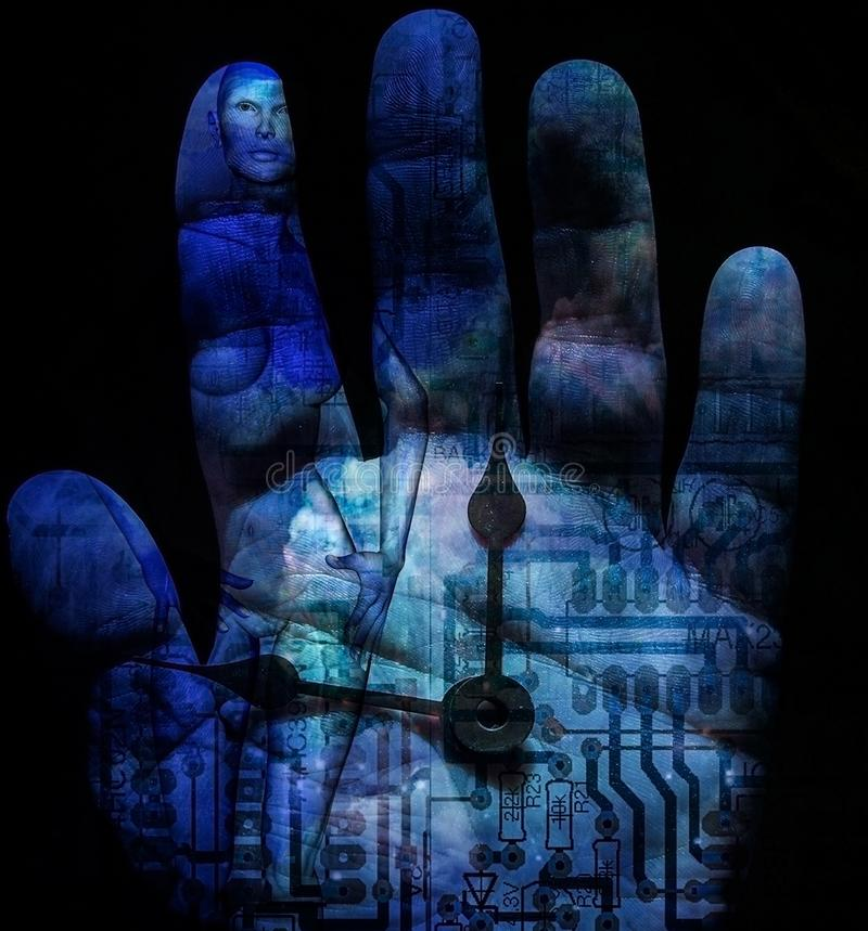 L'avenir de l'humanité illustration libre de droits