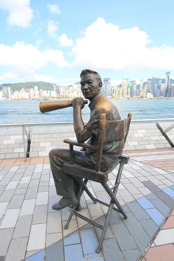 L'avenue des étoiles à Hong Kong photo libre de droits
