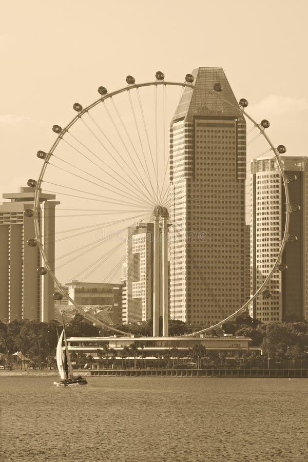 L'aviateur de Singapour image libre de droits