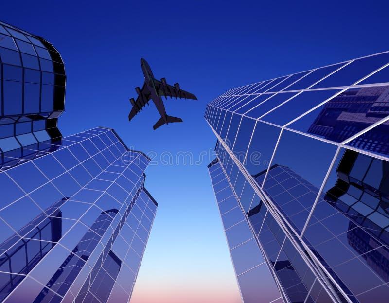 L'avion illustration libre de droits